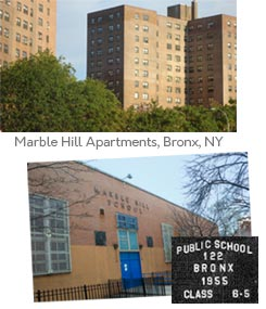 Marble Hill and P.S. 122